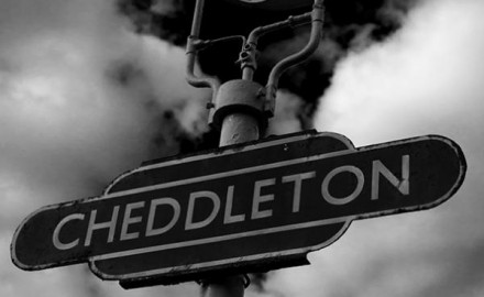 Cheddleton station sign