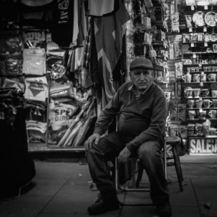 Westend Shop Owner - London 2014