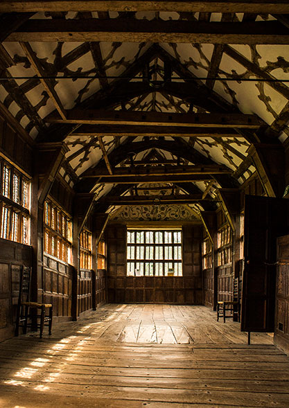 Little Moreton Hall by Marlane Clarke
