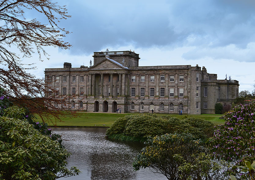 Lyme Park House by Debby Berry