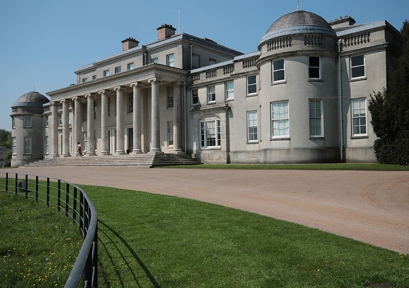 Shugborough Hall by Marg Farmer