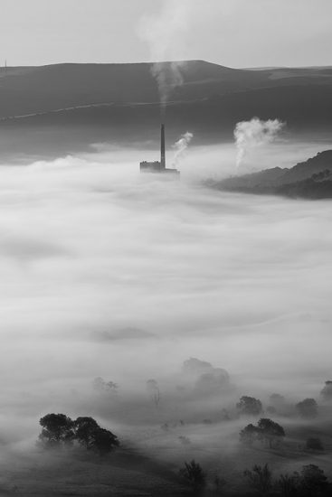 Castleton Cement Works Mist by Jason Bould
