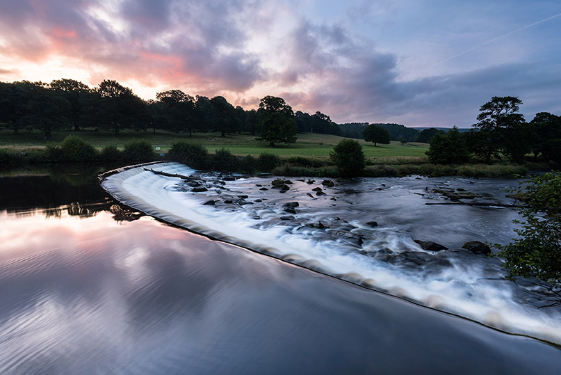 Chatsworth House River Derwent Sunrise by Jason Bould
