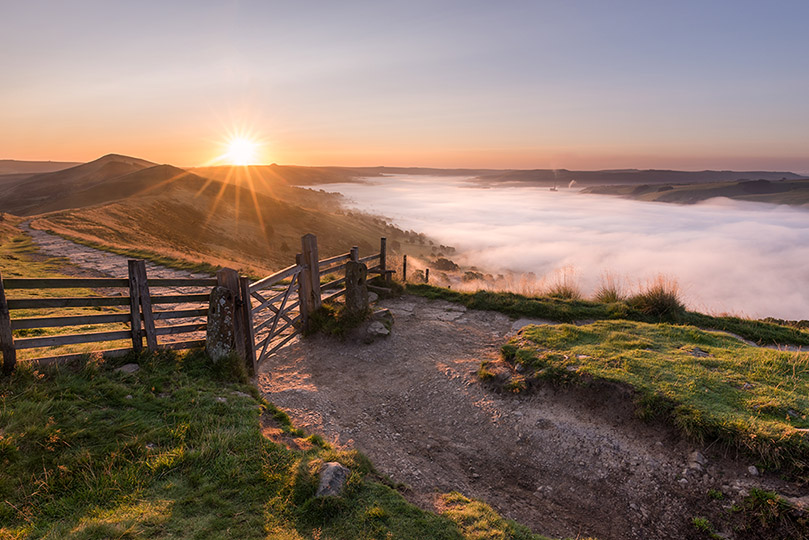 Mat Tor Inversion Sunrise by Jason Bould