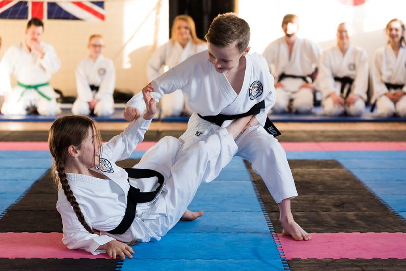 Sport - Karate Jnr Blackbelts by Jason Bould