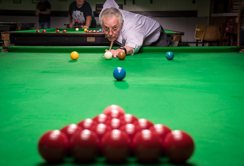 Sport - Snooker Break by Jason Bould