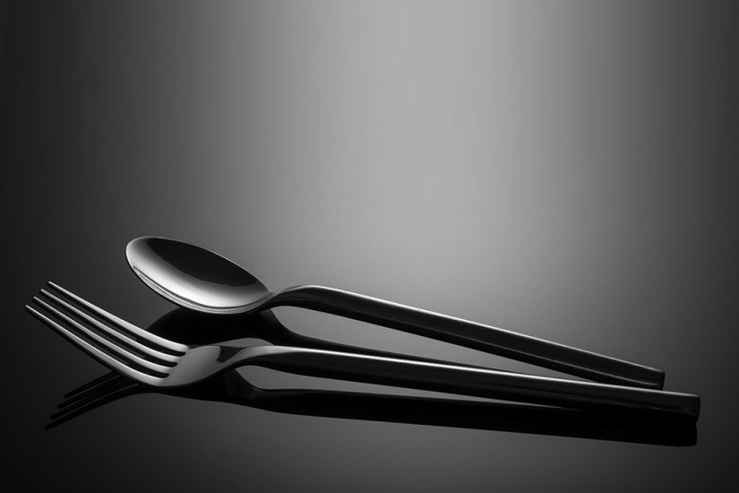 Tabletop - Cutlery Reflection by Jason Bould