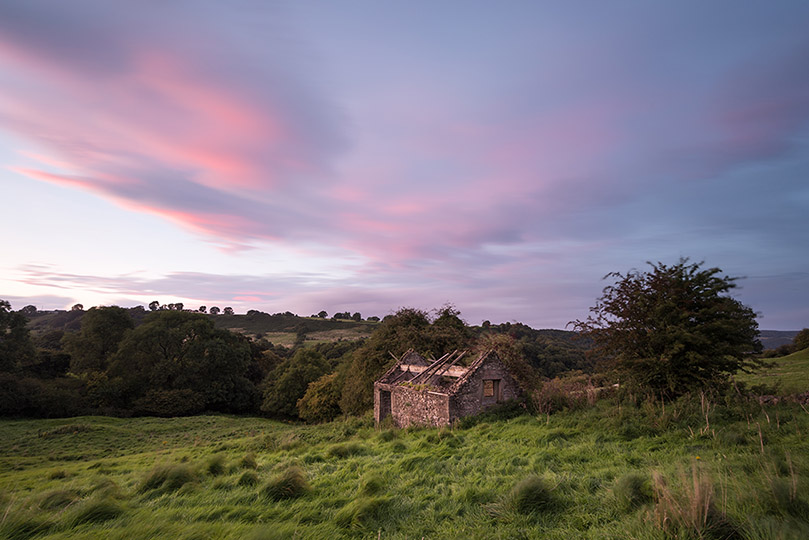 Winster Barn Sunset by Jason Bould