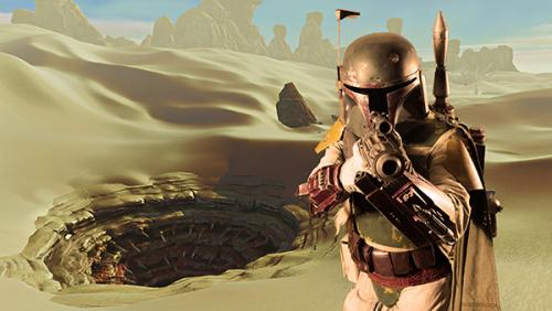 Boba Fett by Claire Wade