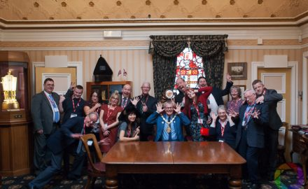Willfield Camera Club members and the Lord Mayor