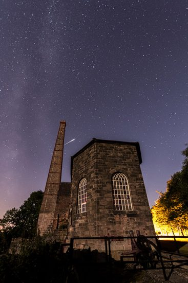 Middleton Top Meteor Shower by Jason Bould