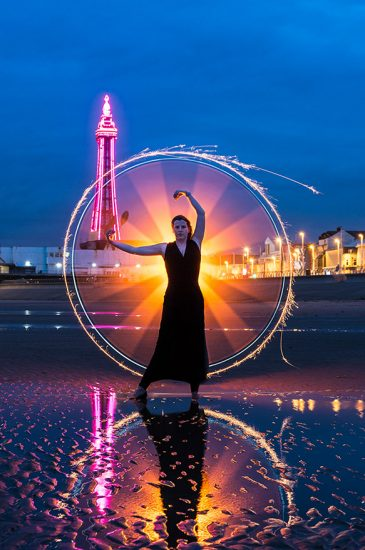 One second exposure with tube by Jason Bould