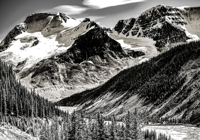 Icefields Parkway Reststop by Alan Rust